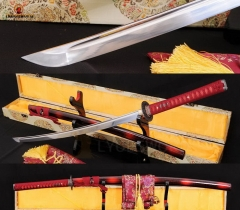 Unsharpened Iaito Katana Practice Training Japanese Sword Full Tang Unsharp Dull Full Tang Blade