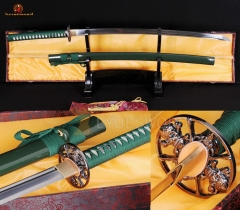 Full Tang 1060 Carbon Steel Blade Training Iaito Iaido Practice Katana Sword Unsharpened Edg
