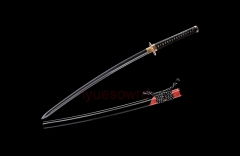 Hand Forged Folded Steel Clay Tempered Hazuya Polish Kobuse Structure Blade Japanese Samurai Sword Kogarasu Maru Katana Handmade Razor Sharp