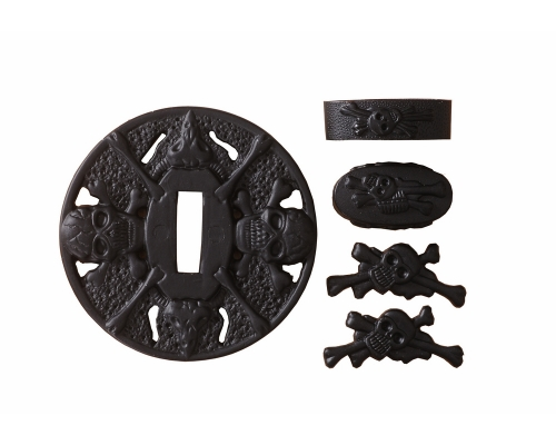 Alloy Tsuba Guard For Japanese Sword Samurai Katana