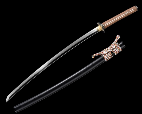 Battle Ready Japanese Samurai Katana Sword High Quality Clay Tempered Blade Tiger Tsuba Full Tang Razor Sharp Edge